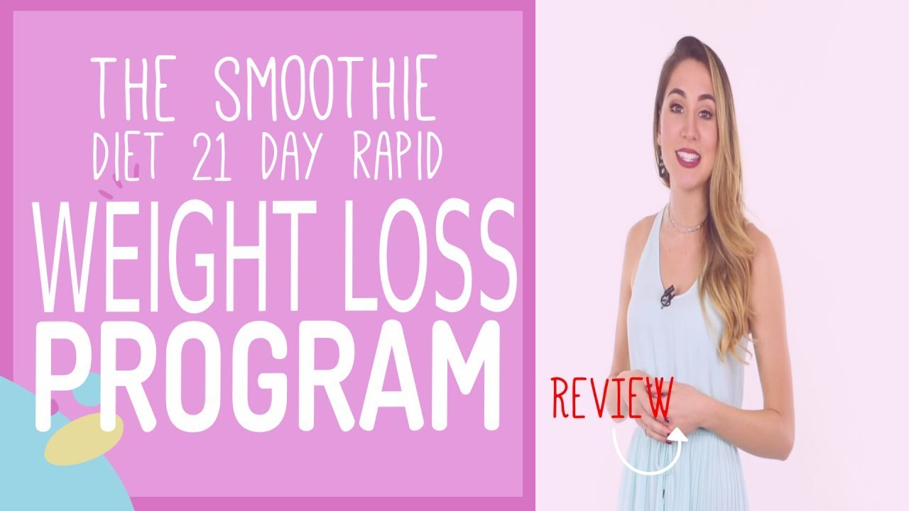 The Smoothie Diet   21 Day Rapid Weight Loss Program Review