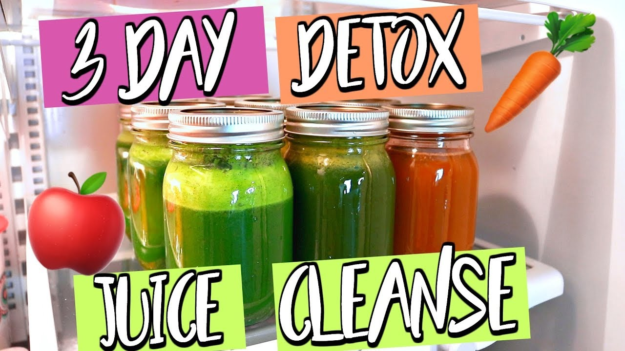 3 DAY DETOX JUICE CLEANSE! LOSE WEIGHT IN 3 DAYS! Top Rated