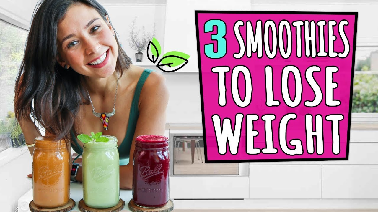 3 SMOOTHIES TO LOSE WEIGHT🌿Yovana Top Rated