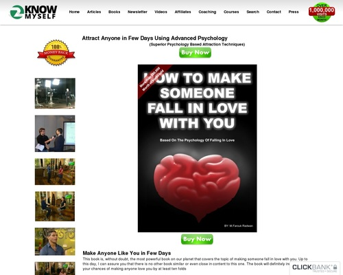 Attract Anyone in Few Days Using Advanced Psychology | 2KnowMySelf