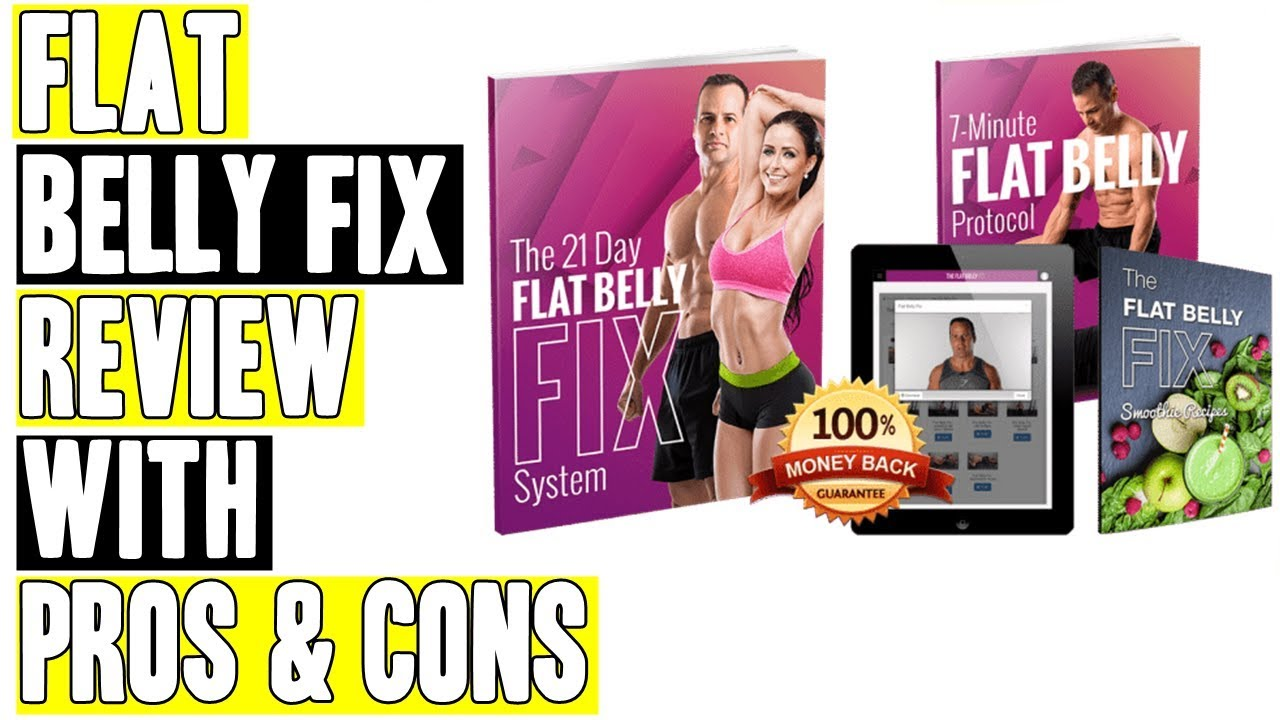 Flat Belly Fix Review with Pros & Cons