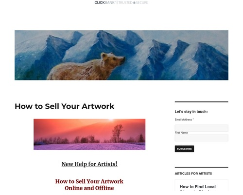 How to Sell Your Artwork –