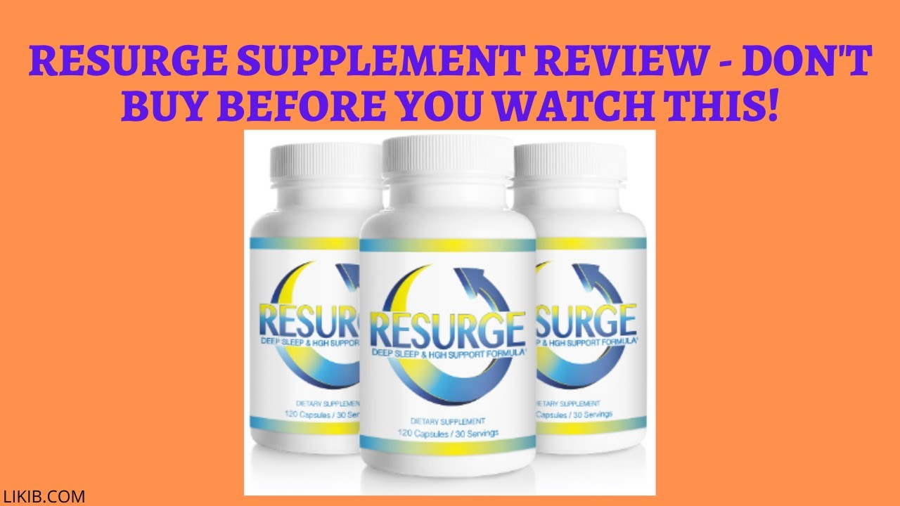 Resurge Supplement Review – Don't Buy Before You Watch This!! – How to Lose Weight Fast
