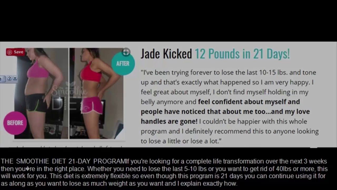 The Smoothie Diet 21 Day Rapid Weight Loss Program Review – Can It Really Help?