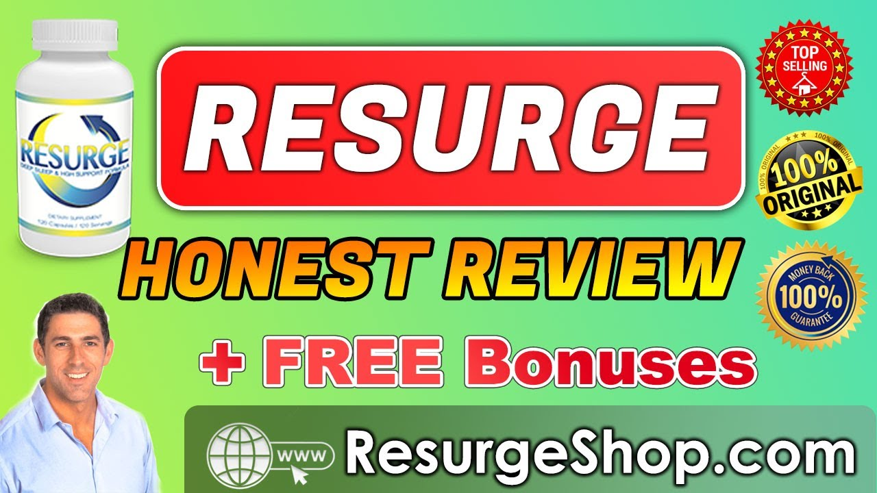 Resurge Review ™ | Is it REALLY work for YOU? 😱| The Truth! ⚡ Resurge Reviews – How to Lose Weight Fast