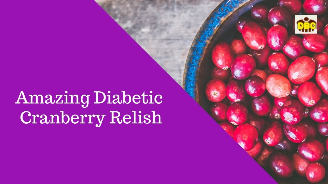 Reverse Diabetes Naturally: Sugar-Free Cranberry Relish