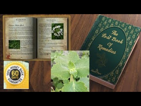 The Lost Book of Remedies – Natural Treatment, Herbs, Reviews & Download Video Review
