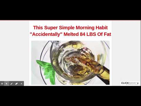 """Weight Loss Flat belly fix   This Super Simple Morning Habit""""Accidentally"""" Melted 84 LBS Of Fat"""