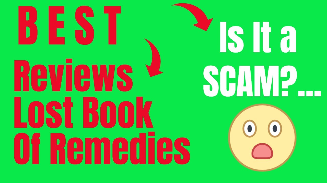 reviews on the lost book of remedies 2020 is it a scam Video Review