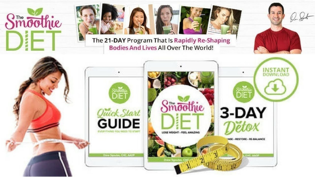 The Smoothie Diet 21 Day Rapid Weight Loss Program 🍴
