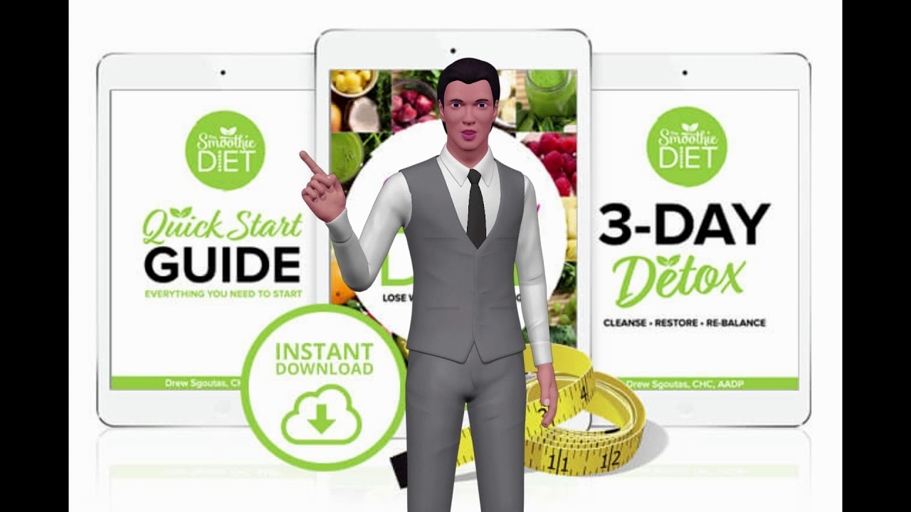 """The Smoothie Diet 21 day Rapid Weight Loss Program Review Rating ★★★★ """" 🍴"""