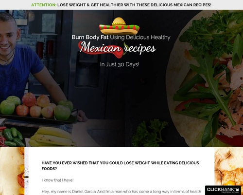 Healthy Mexican Recipes – The perfect recipes for your tastebuds and body! ⚠️