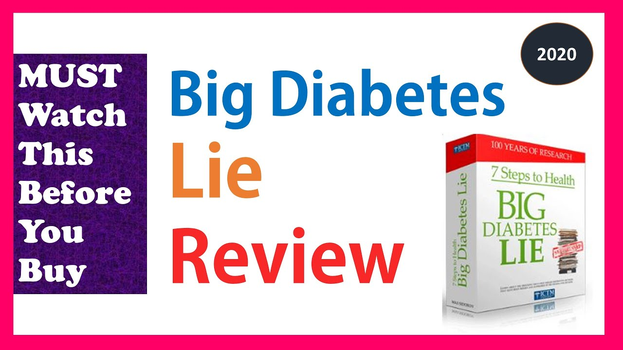 The Big Diabetes Lie Review 2020 🔴 7 Steps To Health By Max Sidorov SCAM or Legit ? 👨⚕️