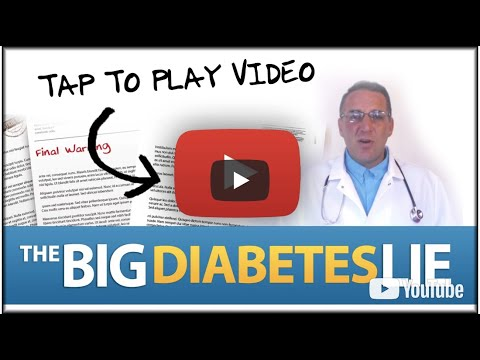 The Big Diabetes Lie Review || Updated (2018)