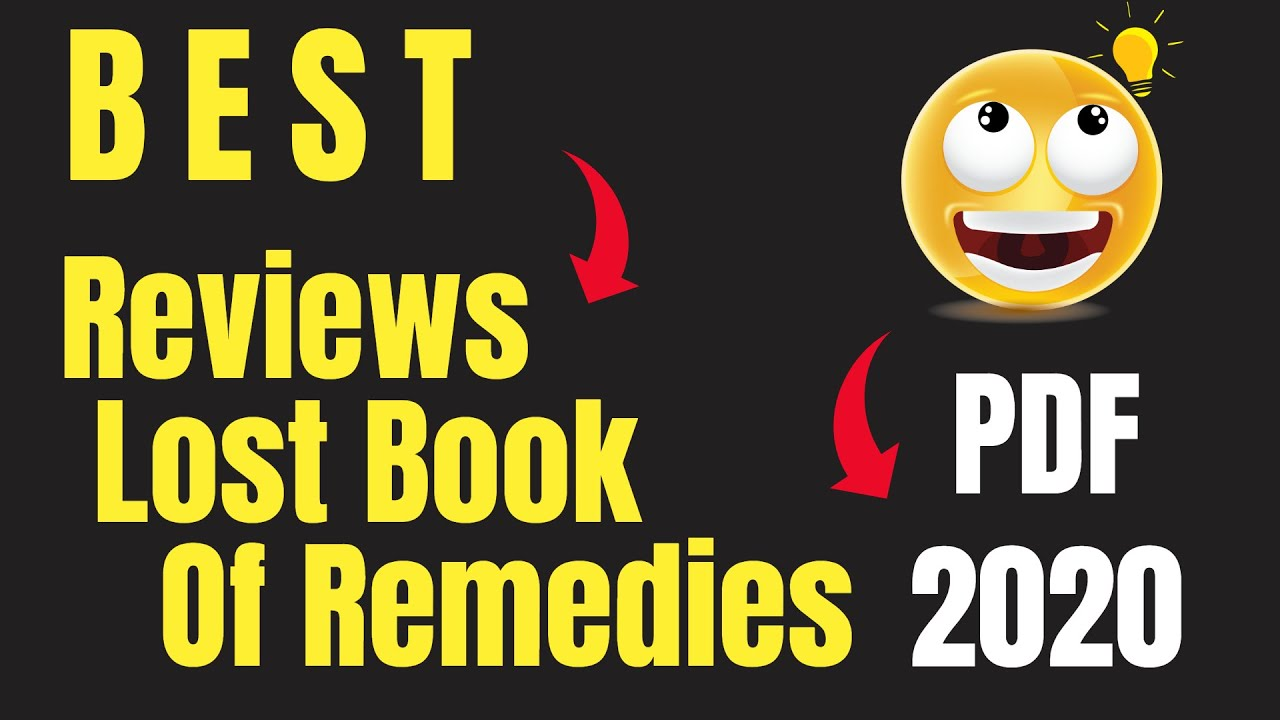 reviews on the lost book of remedies pdf 2020