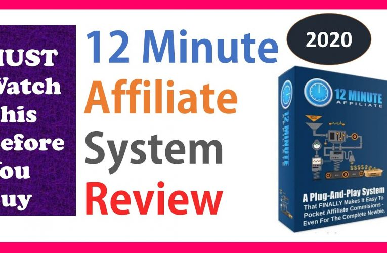 12 Minute Affiliate System Review – 2020-03-18 15:40:53