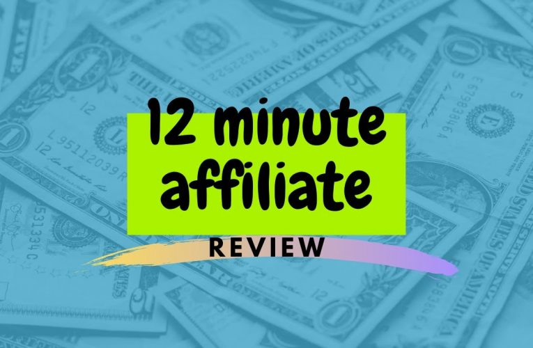 12 Minute Affiliate System Review – 2020-01-20 18:15:10