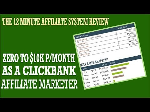 12 Minute Affiliate System Review – 2019-11-17 19:00:24