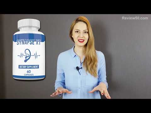 Synapse XT Review - Maintain A Healthy Brain & Hearing - Synapse XT Dietary Supplement For Tinnitus