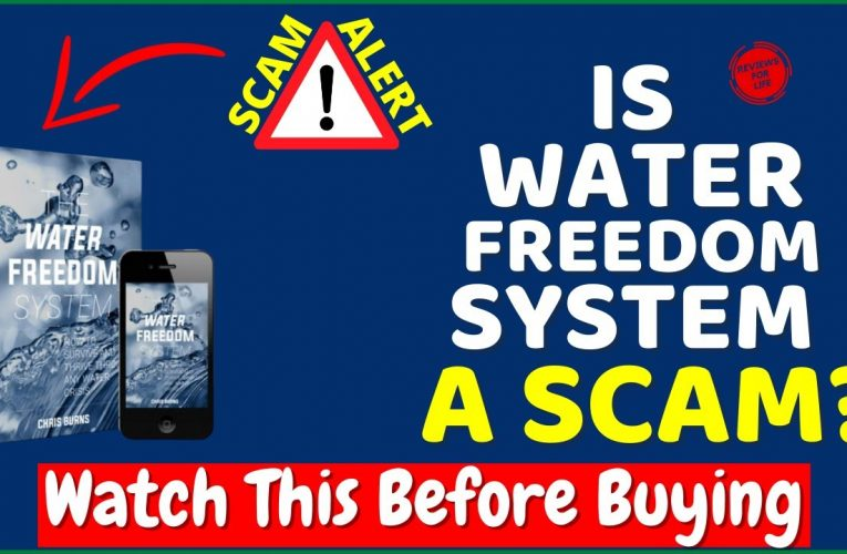 Water Freedom System Reviews ❌SCAM Alert⚠️ Other Water Freedom System Reviews Are HIDING From You (Watch Now!)